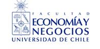 Facultad de Economía y Negocios - Universidad de Chile